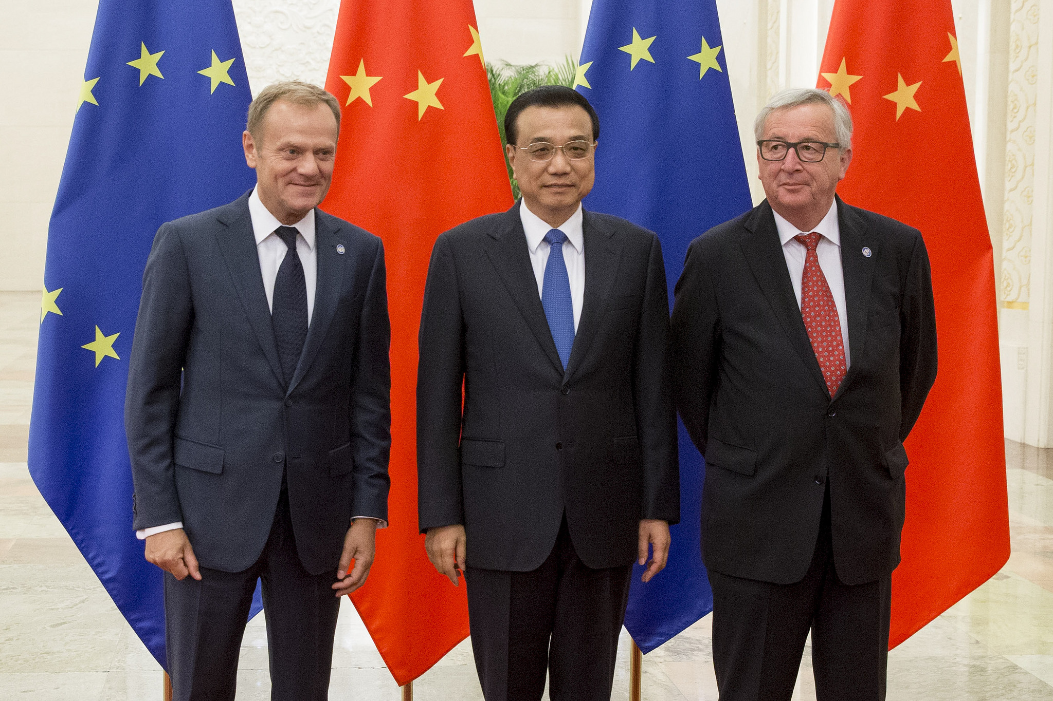 European Union  and China get cozy, call to 'improve' world order